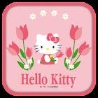 Hello Kitty Tulip Theme icon