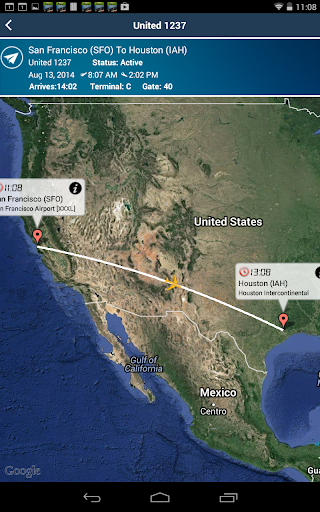 Houston Airport+Flight Tracker