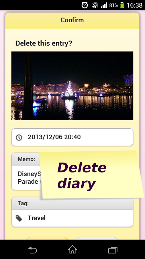 Everyone's Photo Diary- screenshot