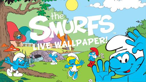 The Smurfs' New Live Wallpaper
