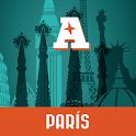 París guía mapa offline