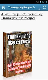 Thanksgiving Recipes - screenshot thumbnail