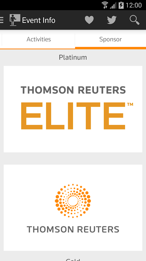 Thomson Reuters Convene - screenshot