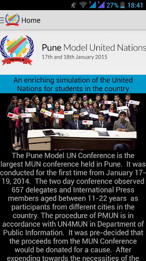 Pune Model UN