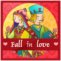 Fall in love GO Reward Theme icon