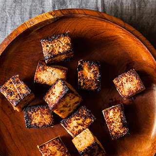 Japanese-Style Fried Tofu.