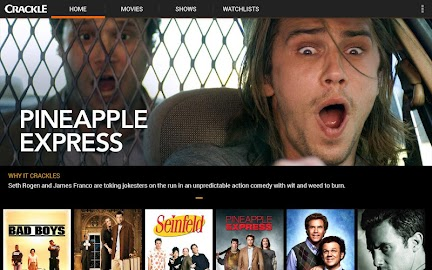 Crackle - Movies & TV Screenshot 1
