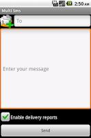 Screenshot of Multi SmsSender 2