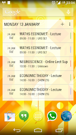 Today - Calendar Widgets Screenshot 4
