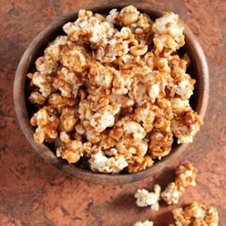 Salted Peanut Butter Caramel Corn