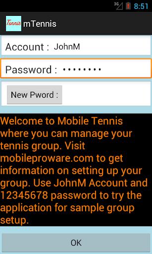 Mobile Tennis