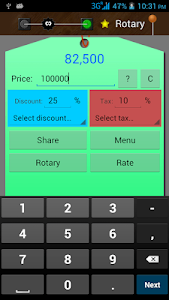 Discount and Tax Calculator screenshot 1