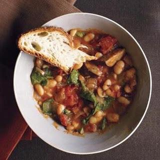 Slow-Cooker White Bean and Kielbasa Stew
