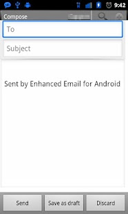 Enhanced Email - screenshot thumbnail