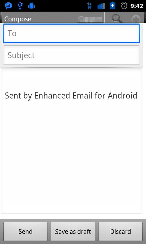 Enhanced Email - screenshot