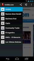 Screenshot of Neonews Argentina