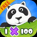MEGA Multiplicación 1-100 FREE icon