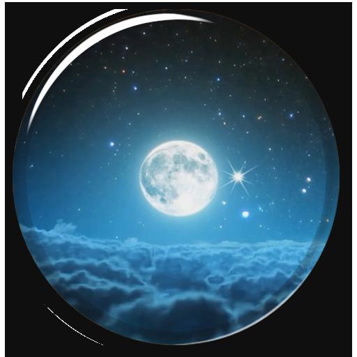 神秘的夜现场壁纸 個人化 App LOGO-APP試玩