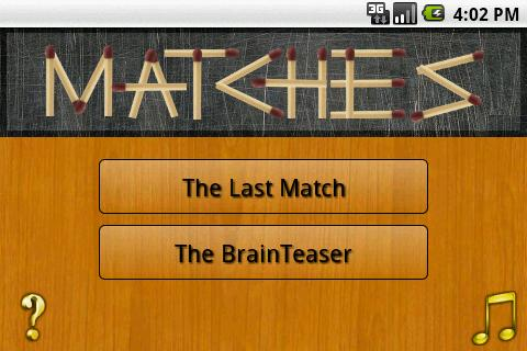 Matches - screenshot
