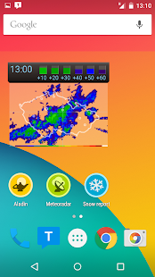 Meteor (Weather) » Meteoradar- screenshot thumbnail