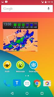 Meteor (Weather) » Meteoradar - screenshot thumbnail