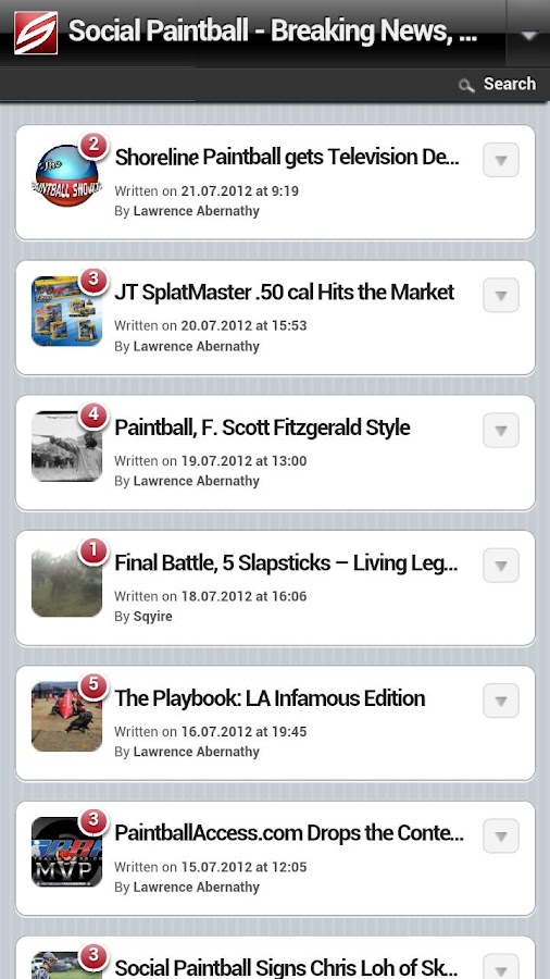 Social Paintball- screenshot