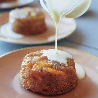Individual Orange Butter Cakes.