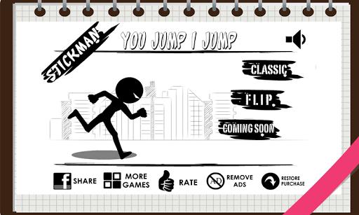 Stickman : Make Them Jump