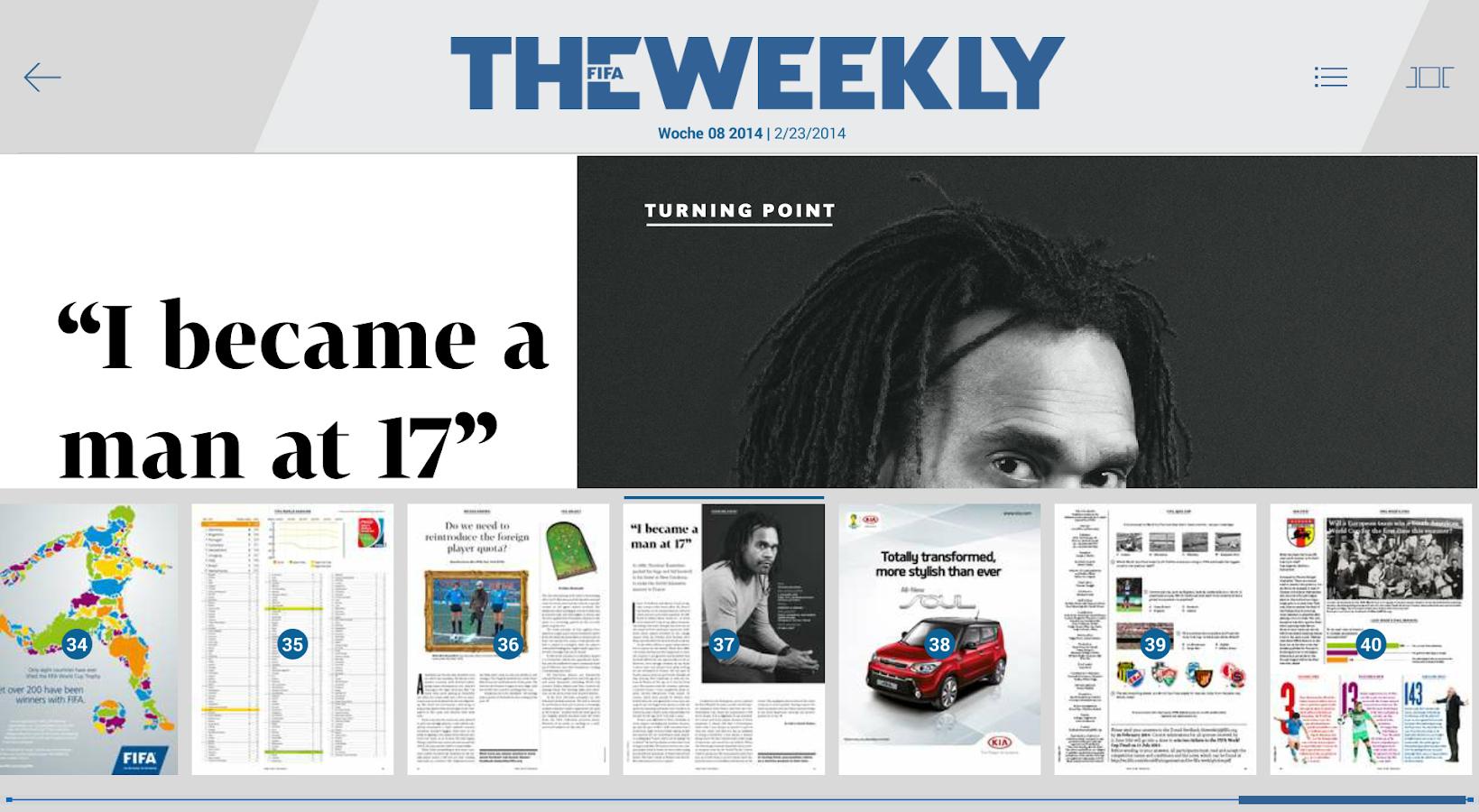 The FIFA Weekly - screenshot