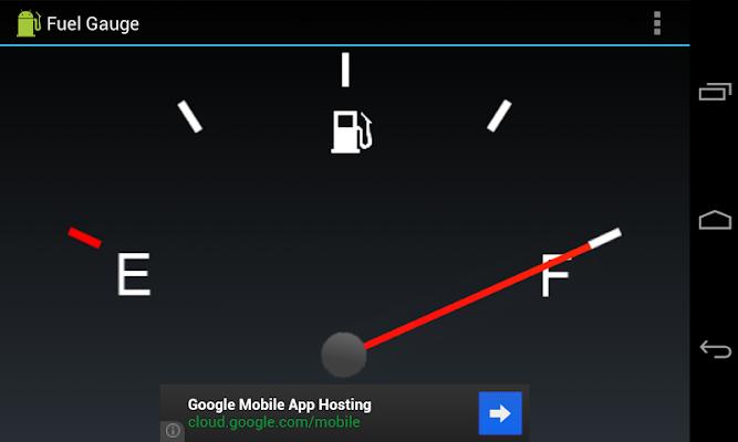 Fuel Gauge - screenshot