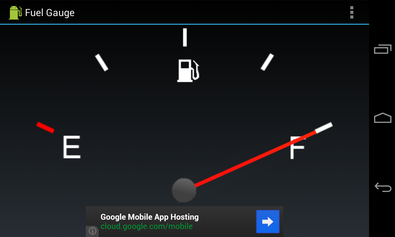 Fuel Gauge - screenshot