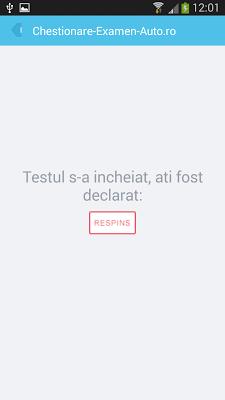 Chestionare Auto - screenshot