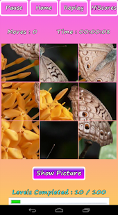 Butterfly Photo Puzzle Screenshot 8