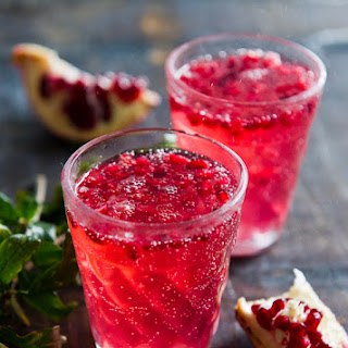 Pomegranate Spritzer Recipe