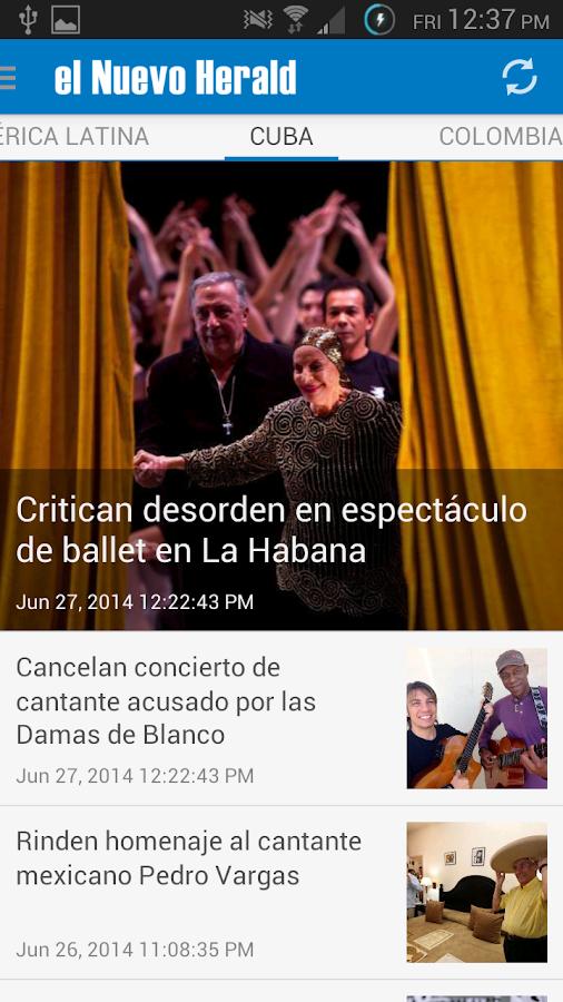 el Nuevo Herald - screenshot