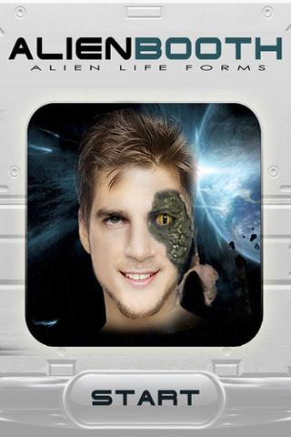 Morphing Alien Photo Booth Fx
