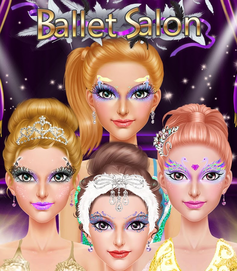 Ballet Dancer: Show Time Salon- screenshot