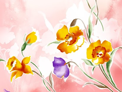 Free Floral Wallpaper HD - screenshot thumbnail