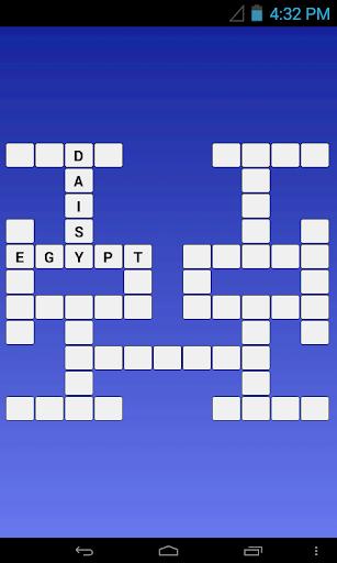 English - French Crossword