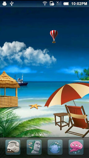 Cool Beach HD Live Wallpaper
