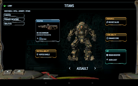 Titanfall Companion App 1.1.0 screenshot 54962
