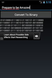 Binary Converter Hack for the game