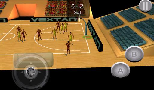 プロバスケット。バスケットボール