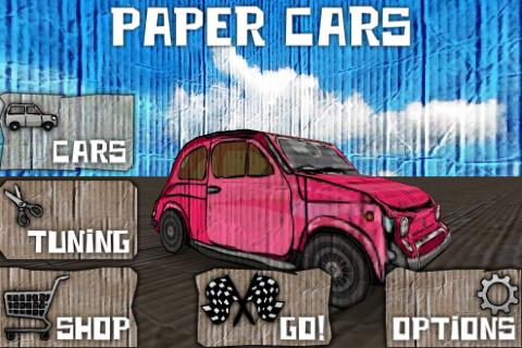 Paper Cars BETA- screenshot