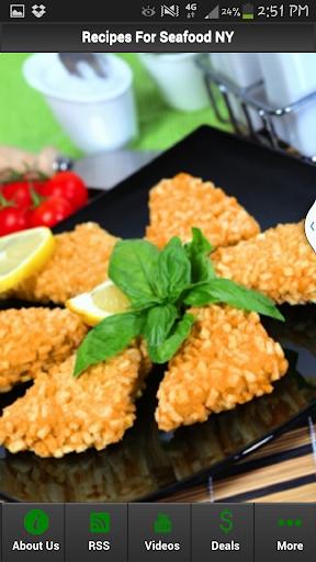 Recipes For Seafood NY