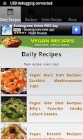 Screenshot of Vegan Recipes!