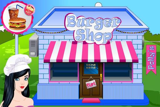 波利汉堡店游戏