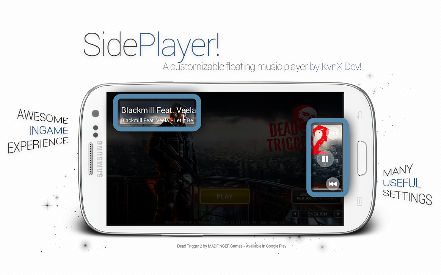 SidePlayer- screenshot