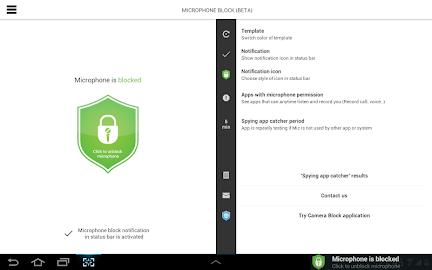 Mic Block - Anti spy & malware Screenshot 16