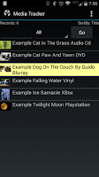 Screenshot of Media Tracker (Movies, etc..)